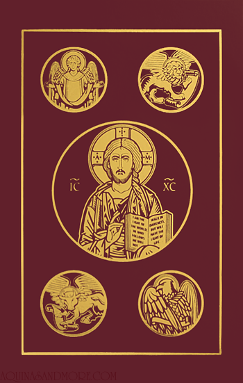 Ignatius Catholic Bible Burgundy