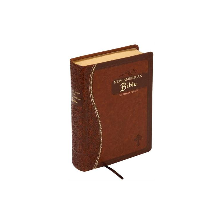 St. Joseph New American Bible (Brown - Gift Edition)