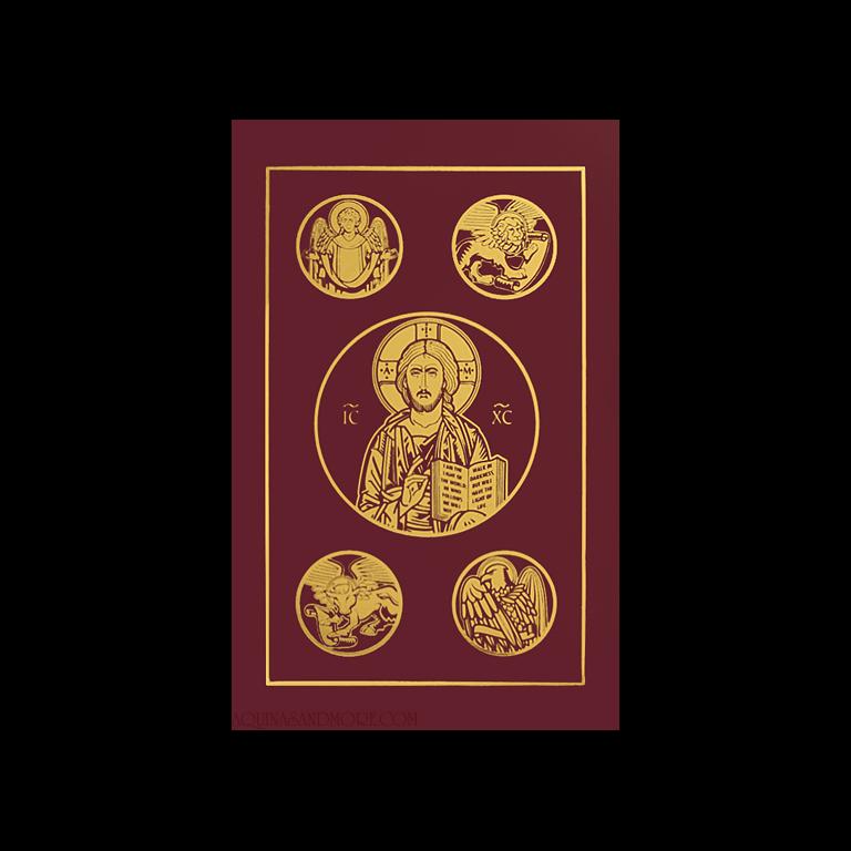 Ignatius Catholic Bible Burgundy